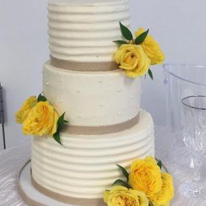 wedding cake in Newport News