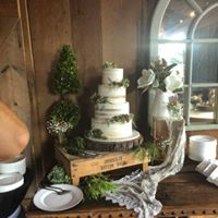 wedding cake presentation