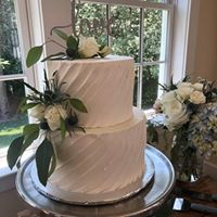 vanilla wedding cakes