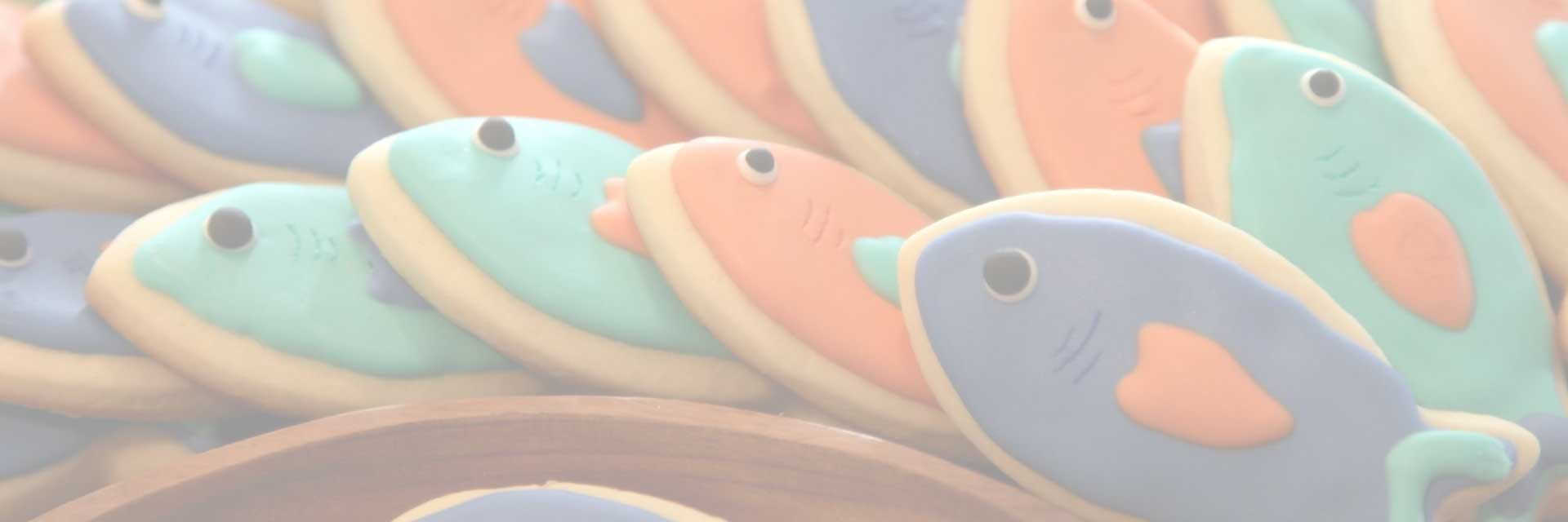 fish themed cookies