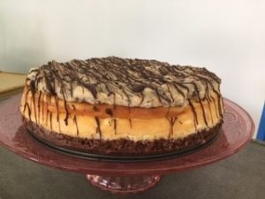 snickers cheesecake from our Hampton VA Bakery